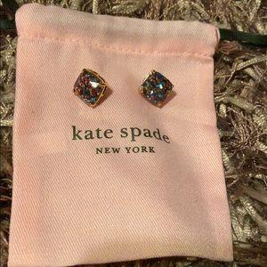 Multicolor Sparkle Kate Spade Earrings